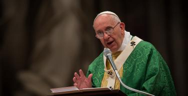 Папа Римский Франциск высказал замечания о психологии современной молодежи