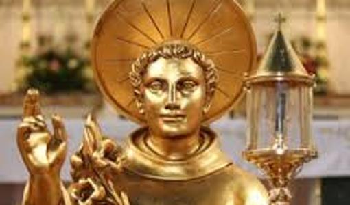 Статуя св. Антония Падуанского