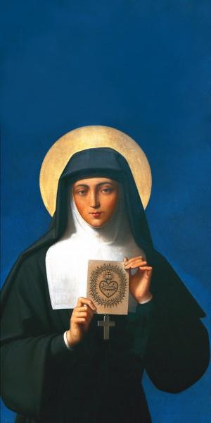 sainte-marguerite-marie-montre-sacre-coeur-tableau