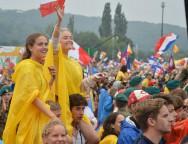 «У милосердия всегда молодое лицо». В Кракове состоялась церемония официального приветствия участниками ВДМ Папы Римского