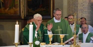 Бывшие ученики Бенедикта XVI проведут традиционную встречу
