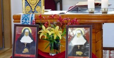 Мощи святых преподобномучениц Олимпии и Лаврентии в Куйбышеве