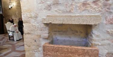 Папа в Ассизи: мир нуждается в прощении