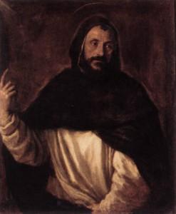 Тициан. Святой Доминик