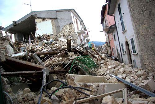 В Италии щенок спас семью от землетрясения