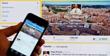 Новый твит Папы Франциска: жесты доброты против ненависти