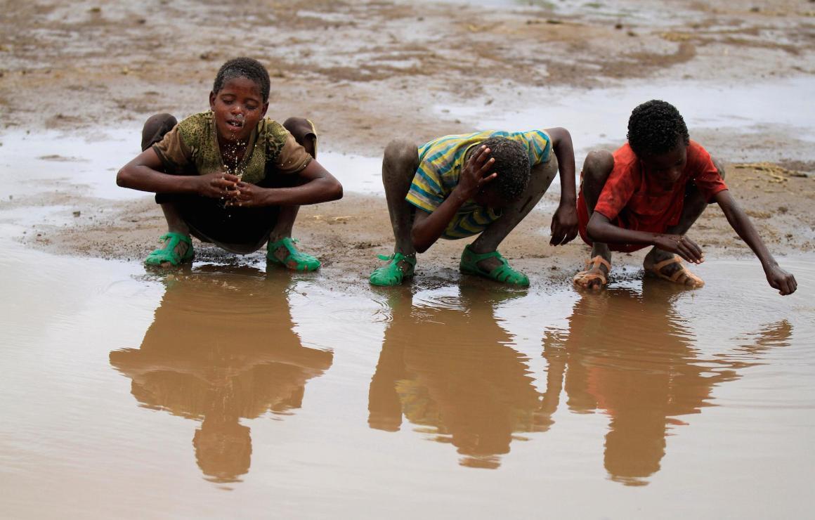 Помощь швейцарской «Каритас» для Эфиопии, поражённой засухой