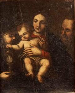 Святая Клара с Младенцем Иисусом