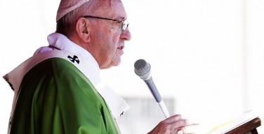 Проповедь Папы Франциска на Мессе Юбилея катехизаторов в воскресенье, 25 сентября, 2016 г.