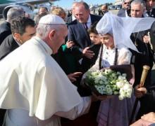 Папа Бергольо в стране своего небесного покровителя (первый фоторепортаж)