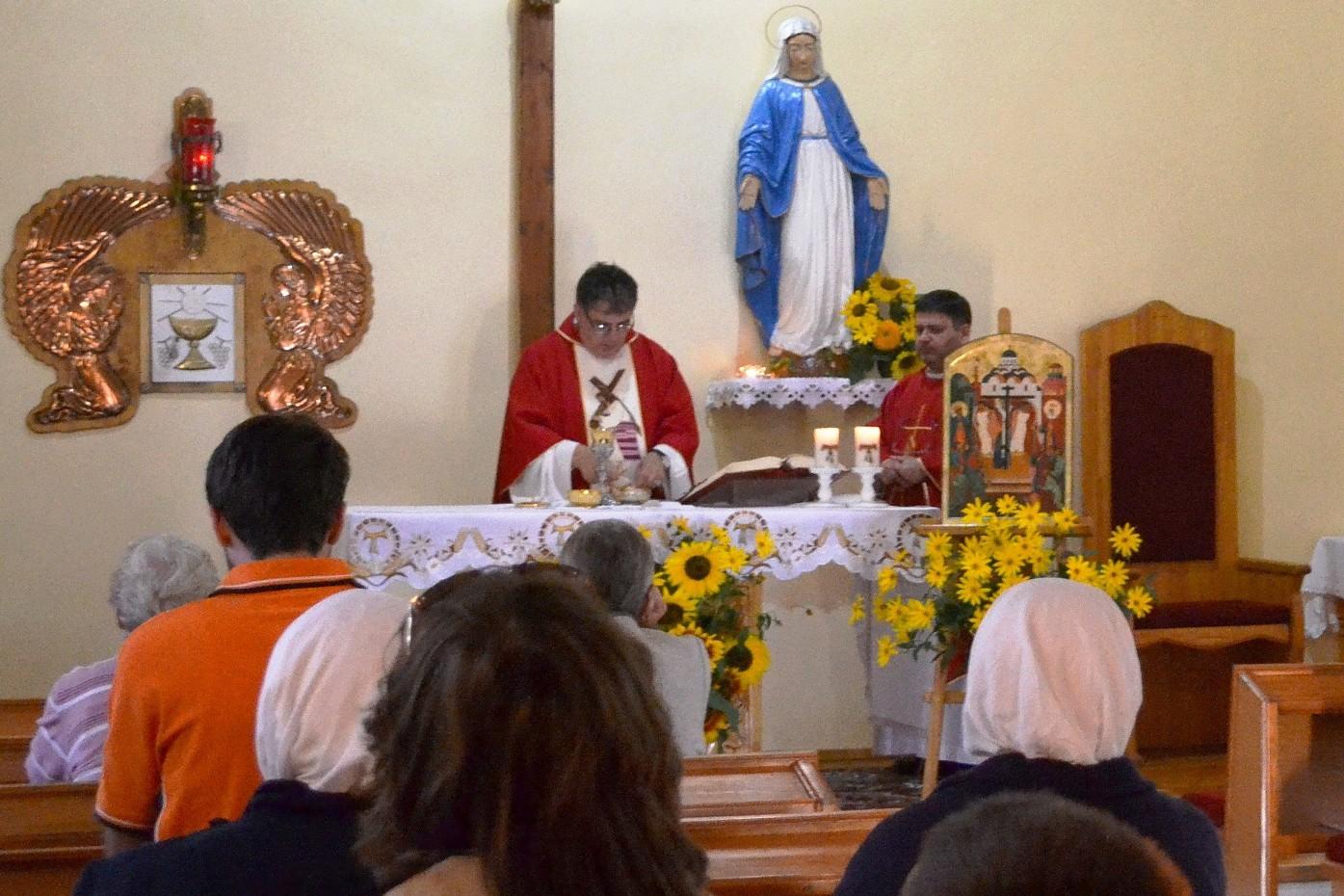 Престольный праздник в Крестовоздвиженской обители францисканцев