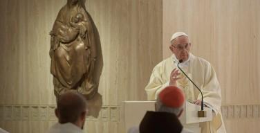 Папа: победить равнодушие, строить культуру встречи