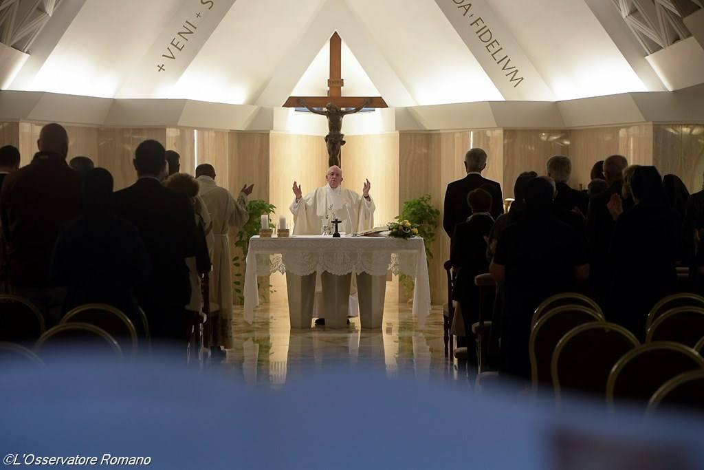 Папа: защищать свет нашей веры
