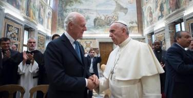 Папа: христиане Ближнего Востока высоко держат светильник веры