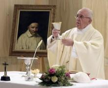 Папа: духовная безысходность преодолевается молитвой