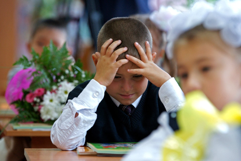 Ученые: треть первоклассников России находится в состоянии стресса