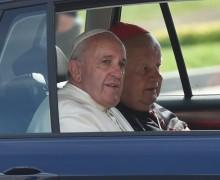 В Польше с молотка уйдут автомобили, которыми пользовался Папа Франциск