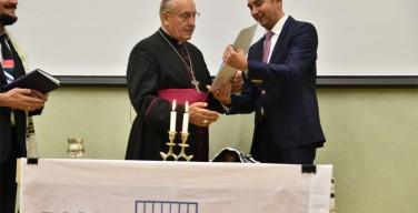 В Минске раввины впервые выбрали «Человеком года» католического митрополита