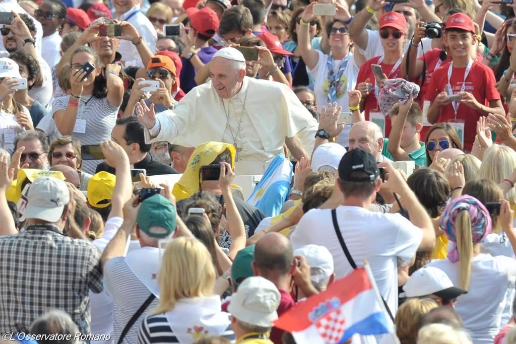 Юбилейная аудиенция 10 сентября. Папа: Свободу даёт только Бог