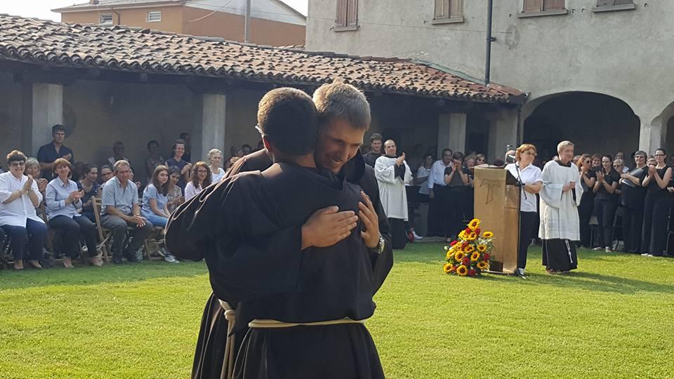 Орден францисканцев: церемония посвящения в новиции (ФОТО)
