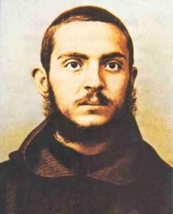 Юный монах-капуцин Пио