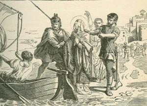 Иоанна Златоуста отправляют в ссылку