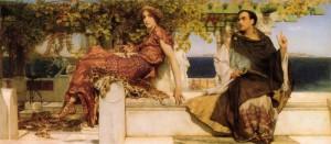 Обращение св. Павлы под влиянием проповеди св. Иеронима