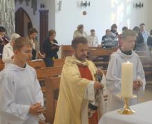 Годовщина освящения храма в Кемерове