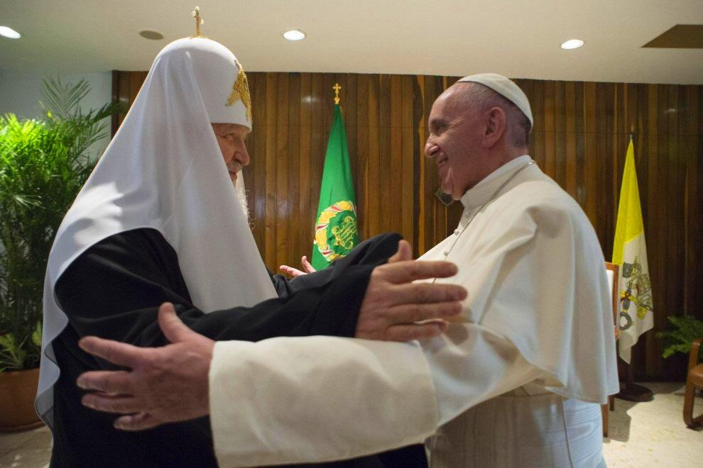 Папа направил телеграмму участникам симпозиума по православной духовности