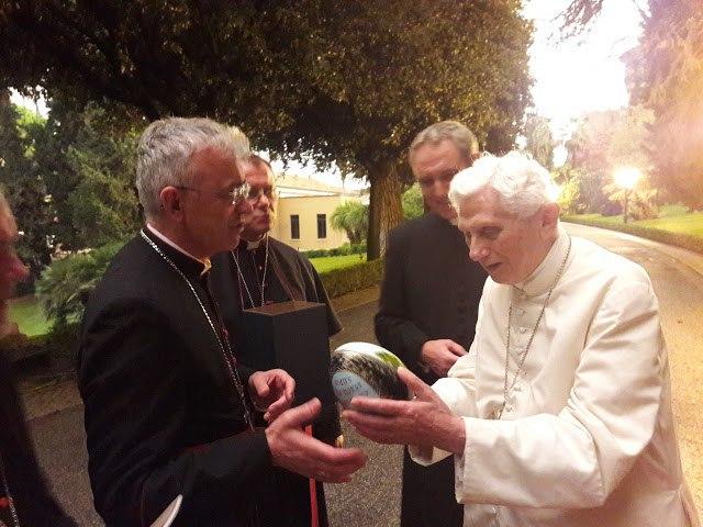 Российские епископы навестили Папу на покое Бенедикта XVI