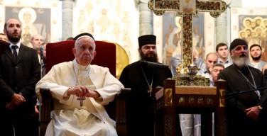 Папа в Светицховели: христианская надежда побуждает никогда не отказываться от возможности встречи