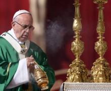 Папа: принимать Божьи дары с благодарностью и смирением, подобно Богородице