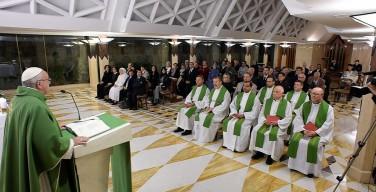 Папа: христиане должны трудиться ради единства в Церкви