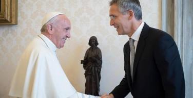 Папа Франциск принял Генерального секретаря НАТО
