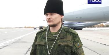 Новосибирские военные представили полевую форму для священников