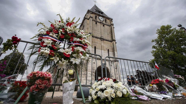 Франция: делегация из Аль-Азхара посетила церковь о. Жака Амеля