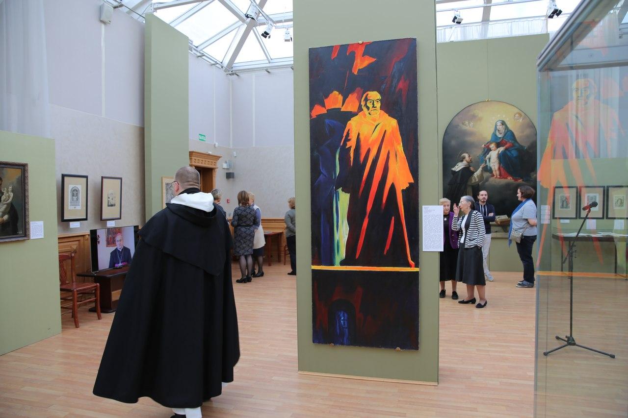 В месяц Святого Розария в России открылась выставка, посвященная доминиканцам