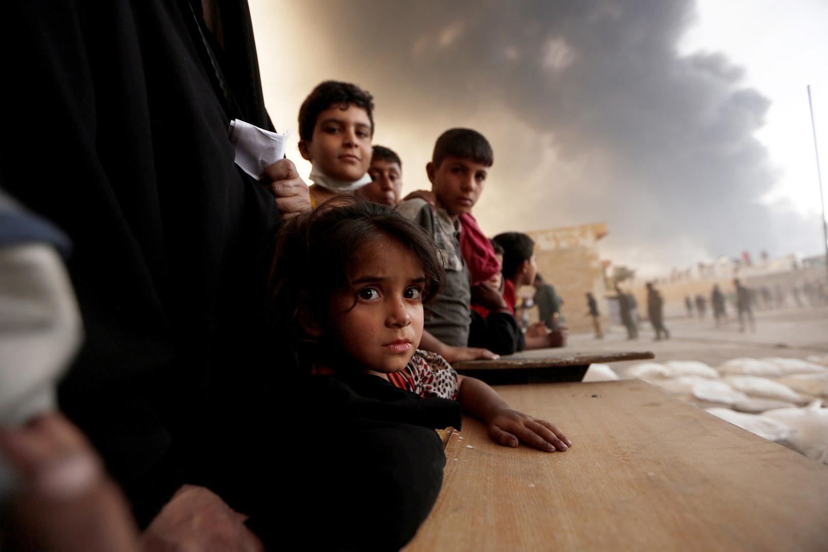 Папа Франциск призвал молиться за жителей осажденного Мосула