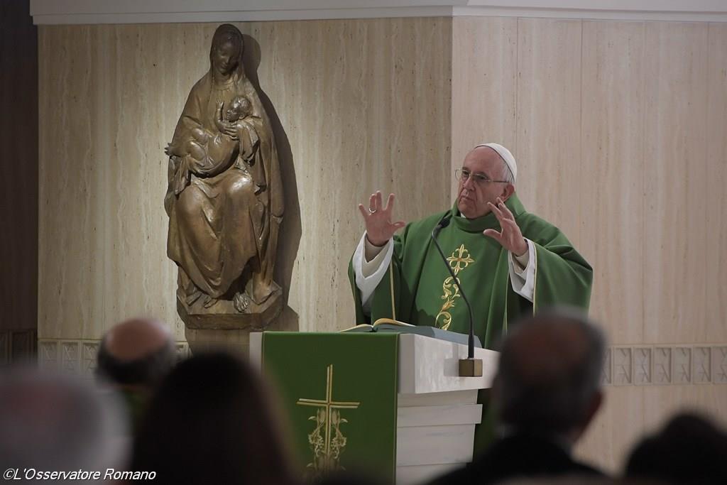 Папа: христианин должен всегда двигаться вперёд