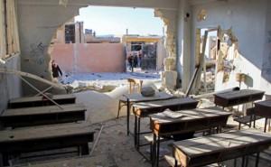 SYRIA-CONFLICT-IDLIB-RAIDS