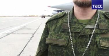 Новосибирские военные придумали удобную форму для священников (ФОТО)