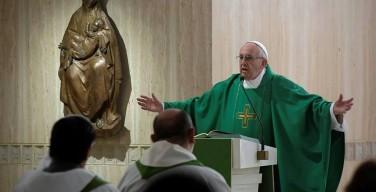 Папа: чтобы познать Иисуса, нужна молитва поклонения