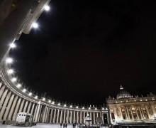 Ватикан: новое светодиодное освещение для площади Святого Петра