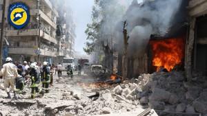 aleppo-syrien-im-juni-2016-nach-einem-luftangriff