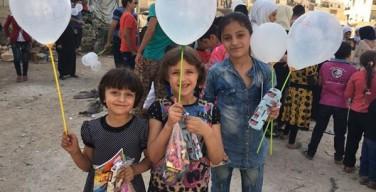 Сирийские дети просят политиков подарить им мир