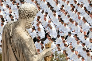 saint-peter-keeps-watch-over-beatification-of-pope-john-paul-ii