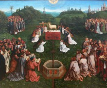 Закончен первый этап реставрации знаменитого Гентского алтаря братьев Ван Эйков