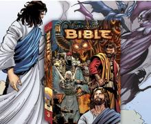 Американское христианское издательство выпустило комикс по мотивам Библии