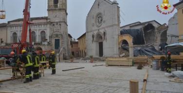 Евросоюз проспонсирует восстановление базилики в Норчии, разрушенной землетрясением