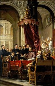 Служение св. Амвросия Медиоланского